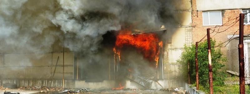 Под Днепром в гараже взорвался газовый баллон. Новости Днепра