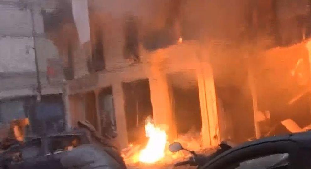 На Днепропетровщине взорвали банкомат. Новости Днепра