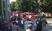 Из-за пожара в Днепре эвакуировали больницу