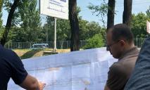 От идеи до воплощения: начались работы на аллее вдоль Запорожского шоссе