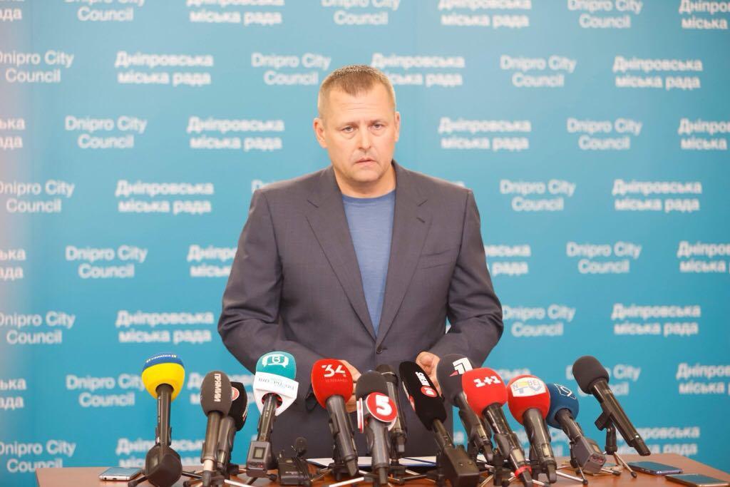 Мэр Днепра Борис Филатов обратился к Президенту Украины. Новости Днепра