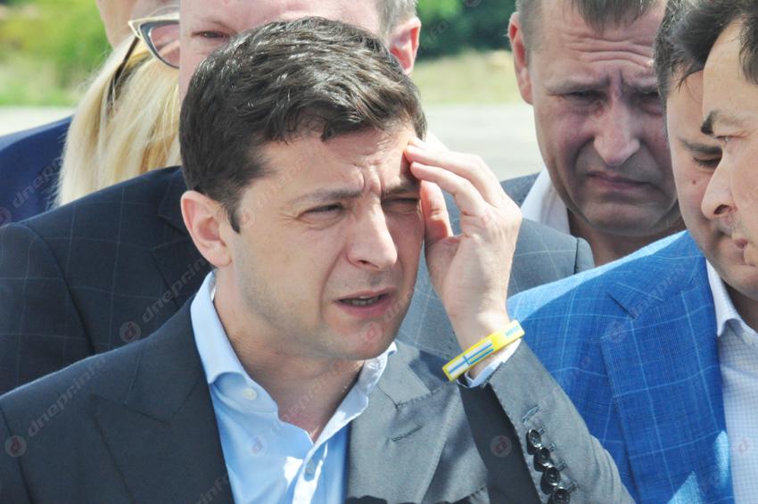 С самолета сразу к инспекции: Филатов встретил Зеленского в Днепре. Новости Днепра