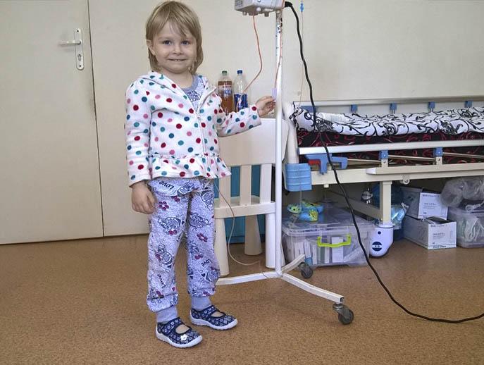Малышка с лейкозом нуждается в помощи неравнодушных днепрян