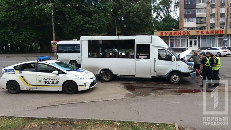 Маршрутка с людьми угодила в ДТП. Новости Днепропетровщины