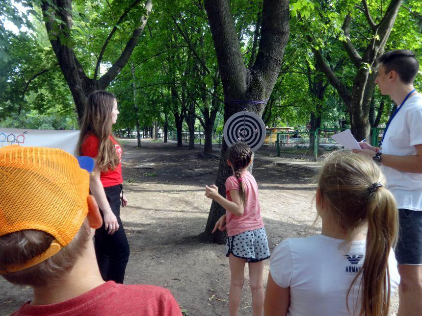 Дворовые олимпийские игры Днепра открывают будущих чемпионов Украины. Новости Днепра