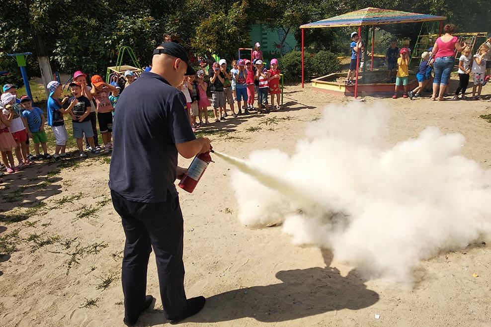 В одном из детских садов Днепра распылили огнетушитель. Новости Днепра