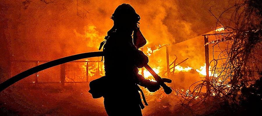 В Днепре произошел пожар на производстве. Новости Днепра