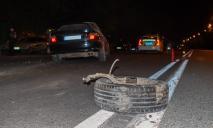 Пьяное ДТП: в Днепре столкнулись три автомобиля