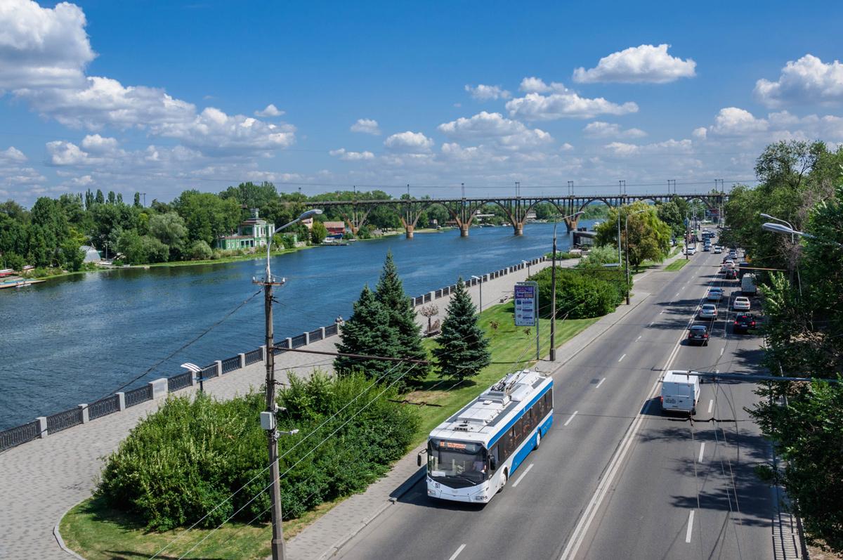 Новости Днепра про В Днепр привезут 12 новых троллейбусов из Беларуси