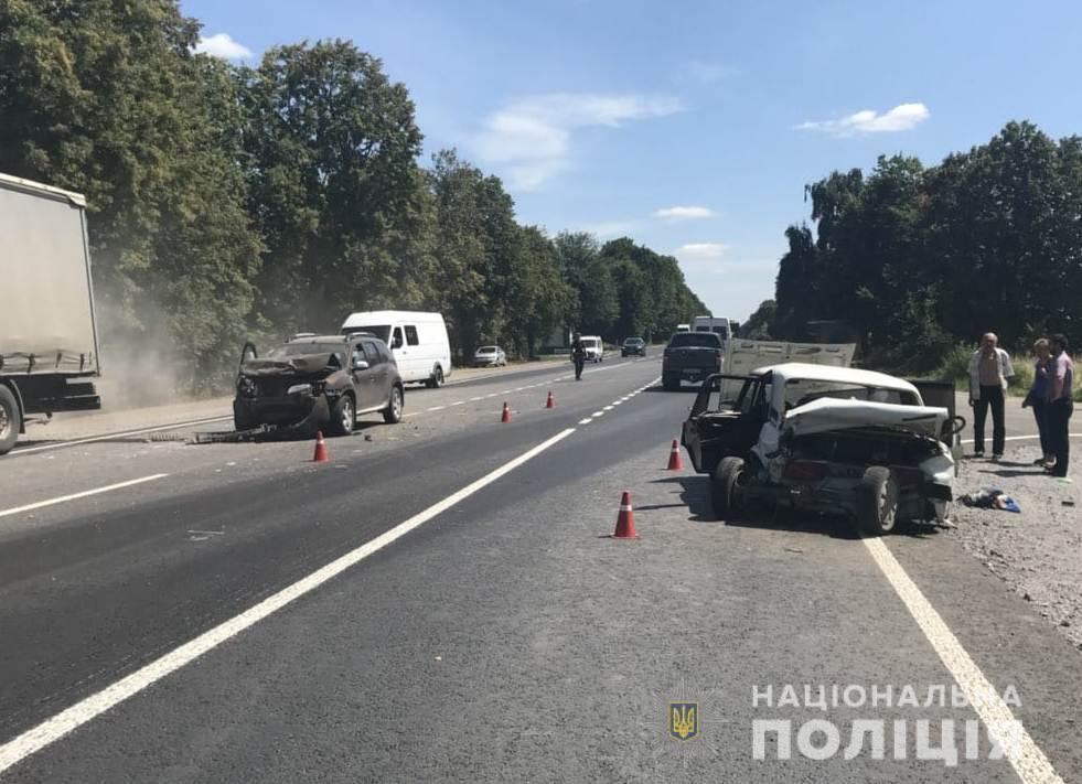 Не поделили дорогу: из-за столкновения авто пострадали пятеро детей. Новости Днепра