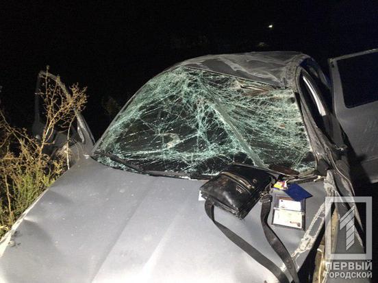 Масштабное ДТП: автомобиль снес отбойник и перевернулся несколько раз. Новости Днепра