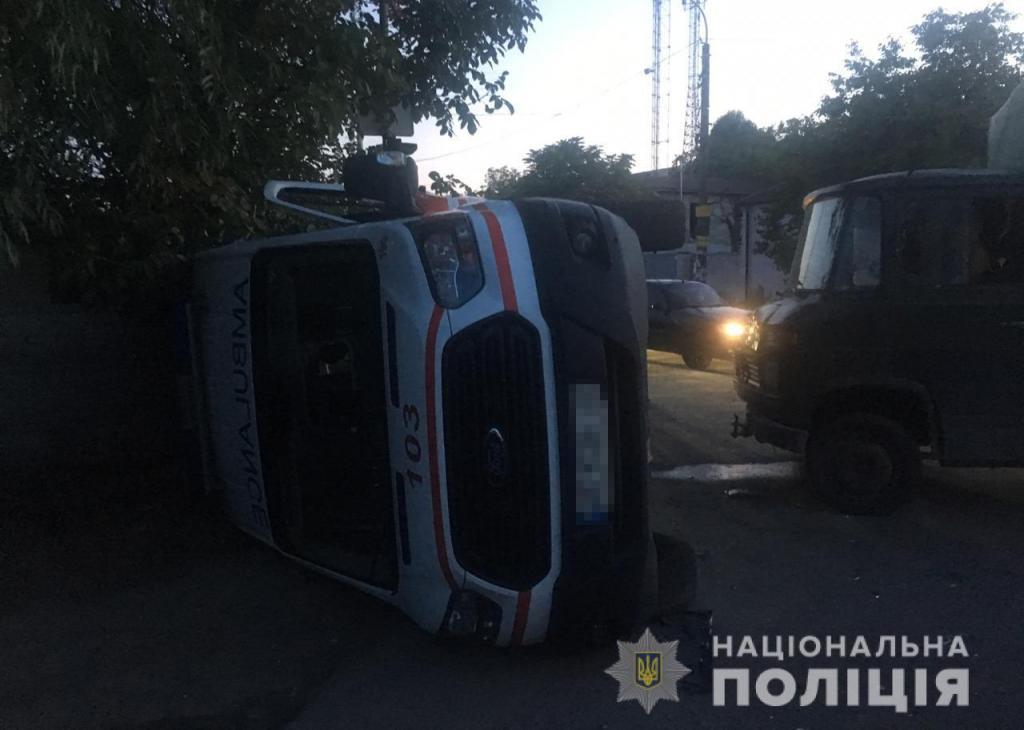 В ДТП пострадали 5 человек. Новости Днепра