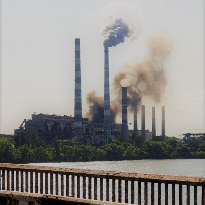 Новости Днепра про В Министерстве экологии отреагировали на аварию на Приднепровской ТЭС
