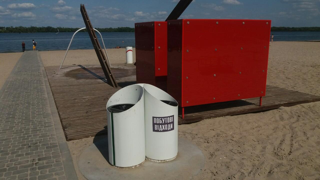 Новые правила на пляже в Днепре: что изменилось. Новости Днепра