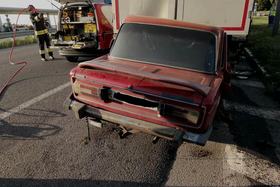 Страшное ДТП под Днепром: водитель погиб прямо за рулем. Новости Днепра
