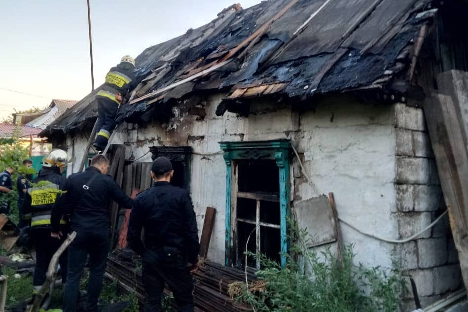 Пожар в Днепре: мужчина сгорел заживо. Новости Днепра