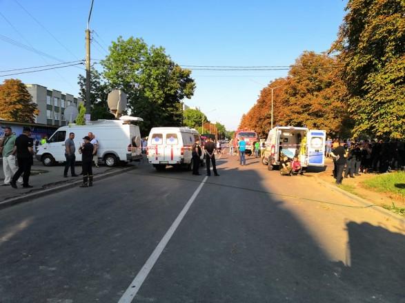 Состояние жертв от взрыва в Дрогобиче. Новости Украины
