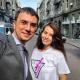Девушка, которая пообещала раздеться на Новом Мосту, встретилась с министром инфраструктуры Омеляном