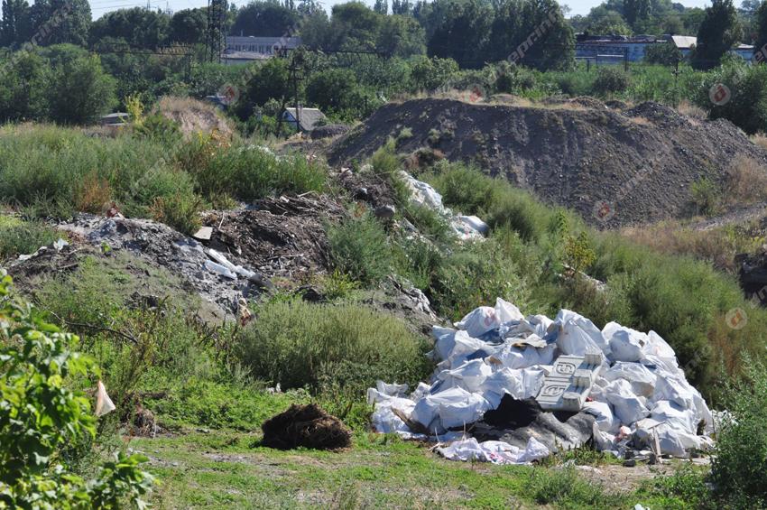 В Днепре на Диевке образовалась стихийная свалка. Новости Днепра