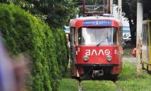 В Днепре «власть» заблокировала движение электротранспорта