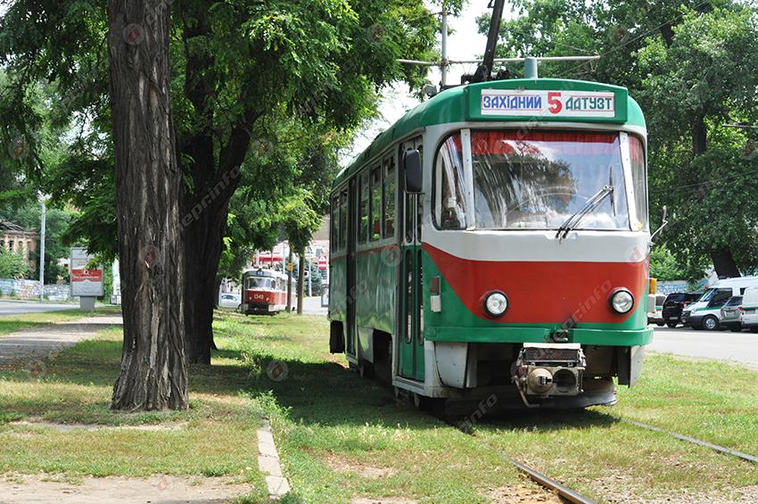 В Днепре появилась новая остановка трамвая. Новости Днепра