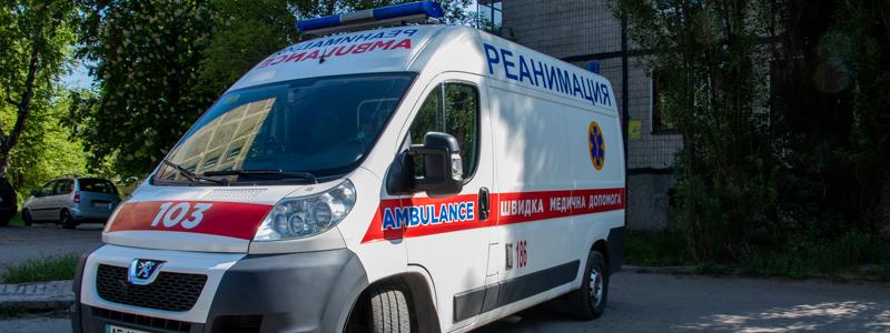 В Днепре 16-летняя выпала с 5 этажа. Новости Днепра