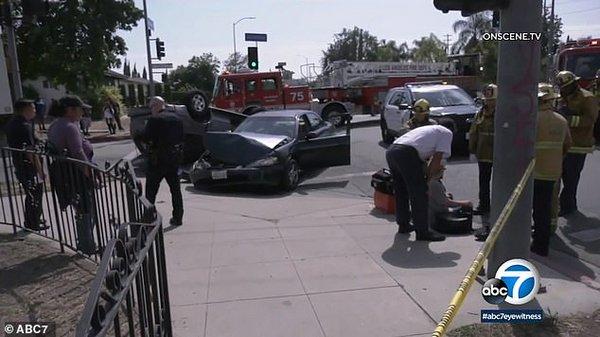 Известный актер спас ребенка, вытащив его из перевернувшейся машины. Новости мира