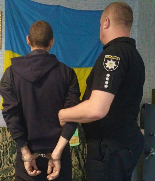 Гнусное надругательство над Государственным Флагом: правонарушителя задержали. Новости Днепра