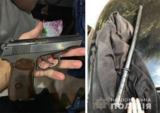 Полицейские задержали одного из участников стрельбы внизу Поля. Новости Днепра