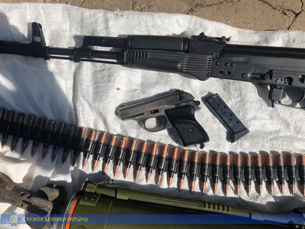 СБУ обнаружила оружие и боеприпасы. Новости Днепра