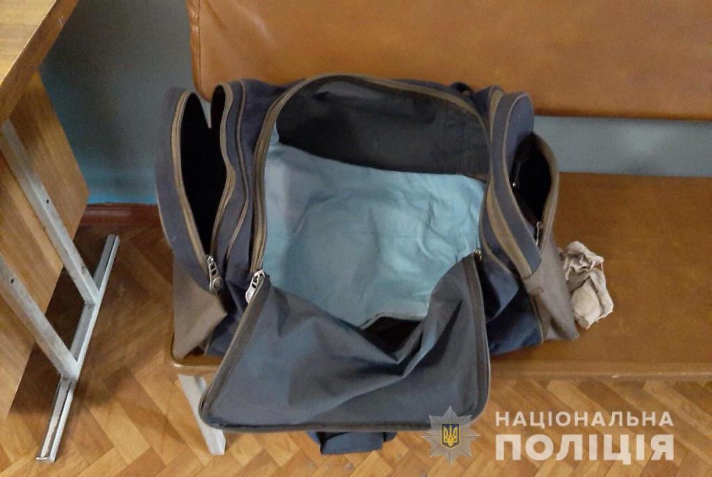 Новорожденного малыша оставили на улице в спортивной сумке. Новости Днепра