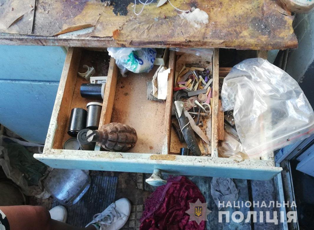Мужчина хранил у себя дома гранату и патроны. Новости Днепра