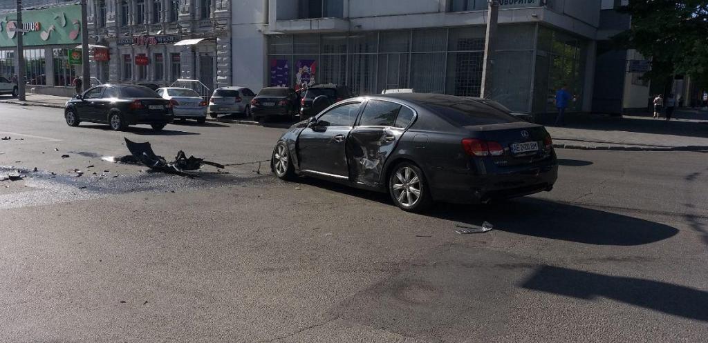 Срочно: ДТП в самом центре Днепра. Новости Днепра