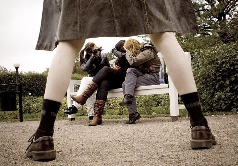 Замечен еще один любитель показывать половой орган женщинам и детям на улице. Новости Днепра