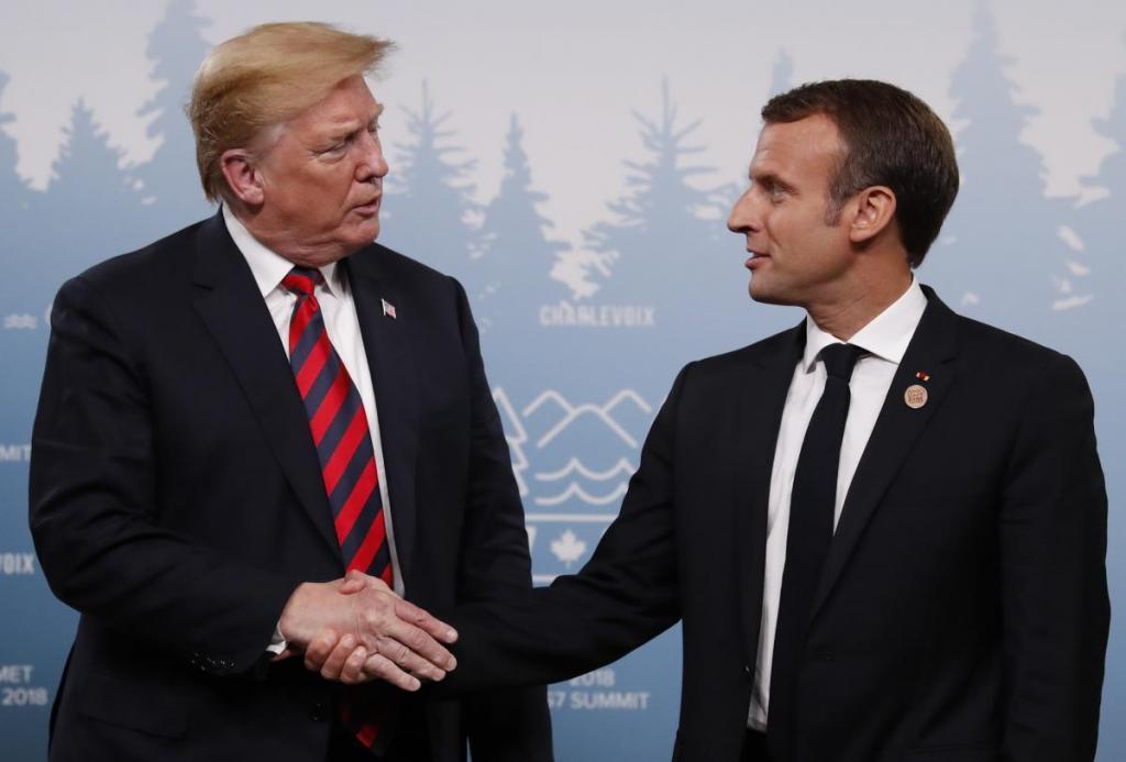Трамп и Макрон договорились: Россия вернется в G8 уже в следующем году. Новости мира
