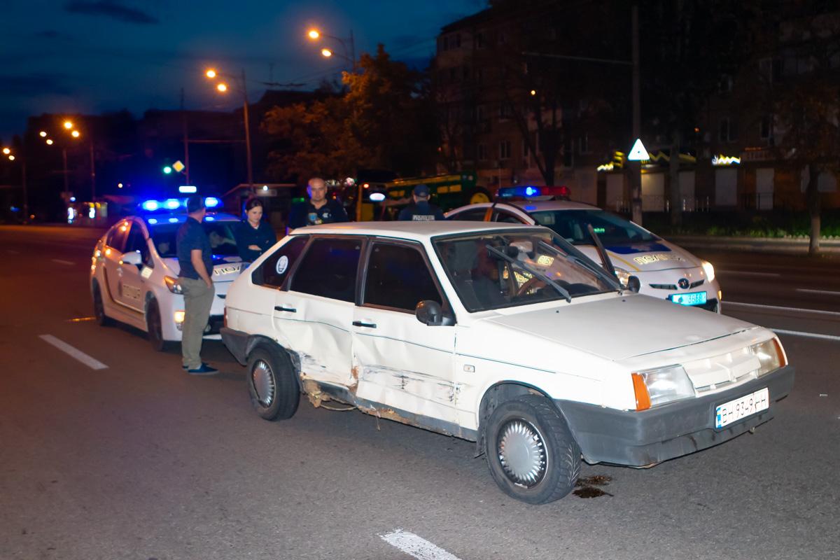 В Днепре происходила погоня за угнанным авто. Новости Днепра