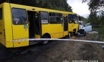 Столкнулись рейсовый автобус и легковушка: среди пострадавших – дети