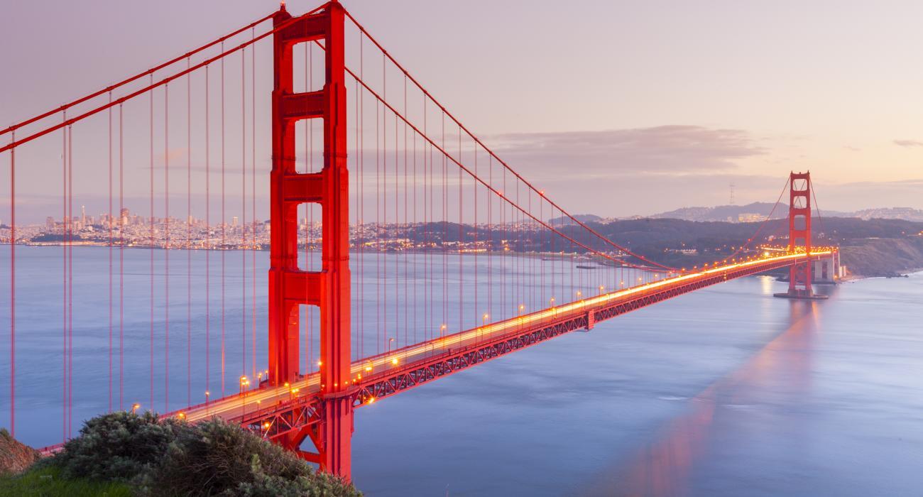 Чем Новый мост похож на мост Golden Gate. Новости Днепра