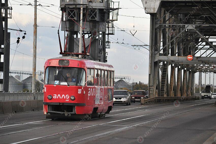 Сегодня и завтра трамваи в Днепре будут ходить по-другому. Новости Днепра