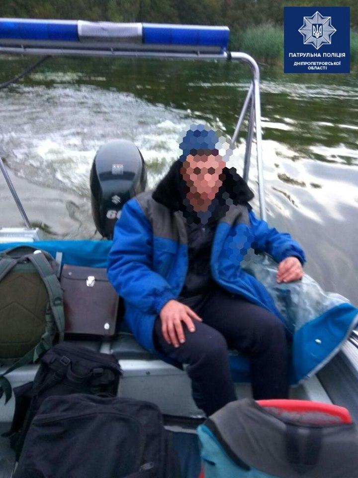 В Днепре двое рыбаков за 2 дня оказались на грани трагедии. Новости Днепра