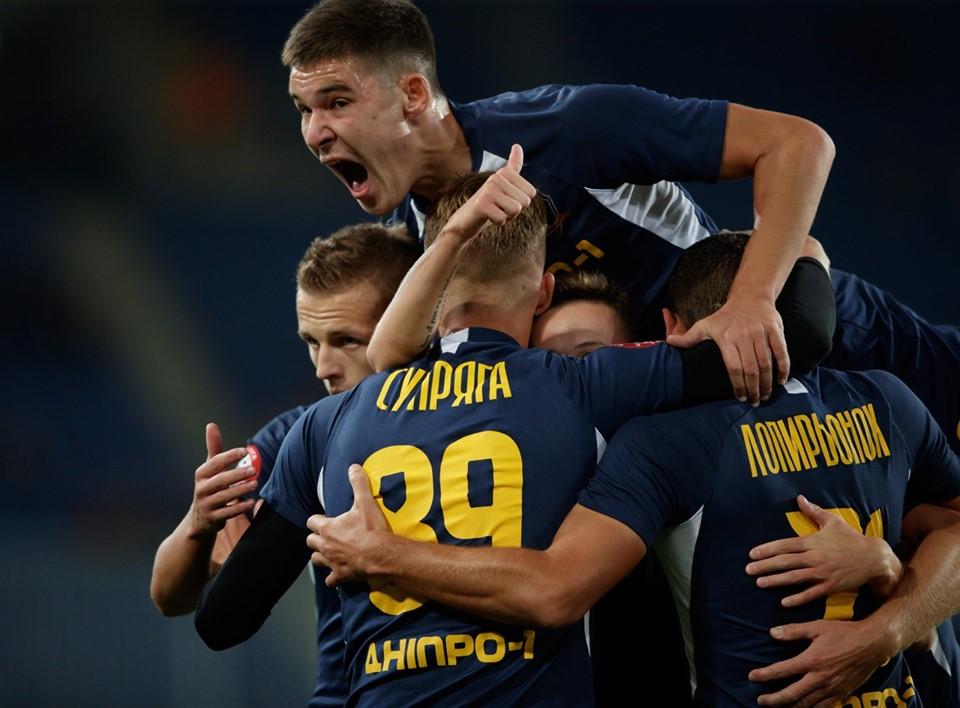 Спортивный клуб «Днепр-1» победил «Карпаты». Новости Днепра