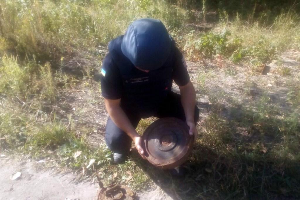 Рибак знайшов в посадці протитанкові міни: подробиці. Новини Дніпра