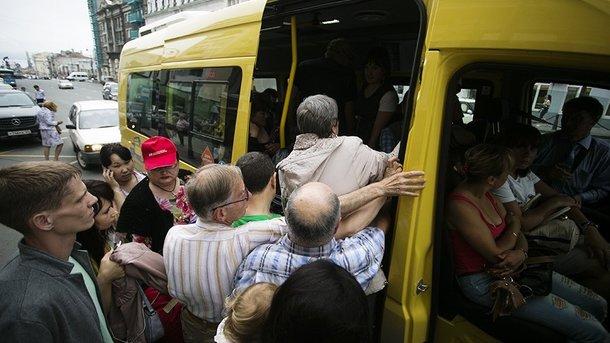 «Пытка за наши деньги»: через что проходят днепряне, пытаясь сесть в маршрутку. Новости Днепра
