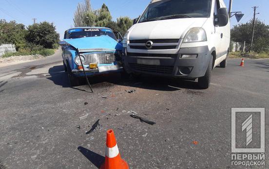 Не уступил дорогу: в результате ДТП пострадал человек. Новости Днепра