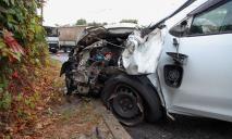 Серьезное ДТП: в Днепре авто влетело в грузовик
