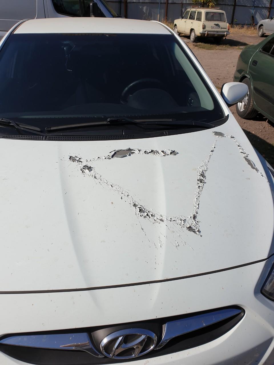 Испорчено 50 авто: в Днепре оставлять машины на стоянке уже небезопасно. Новости Днепра