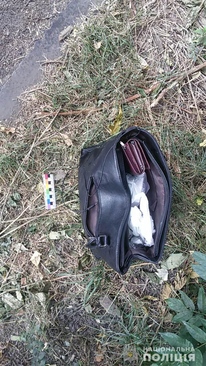 «Прятался в кустах с женской сумкой»: мужчина напал на 55-летнюю женщину. Новости Днепра