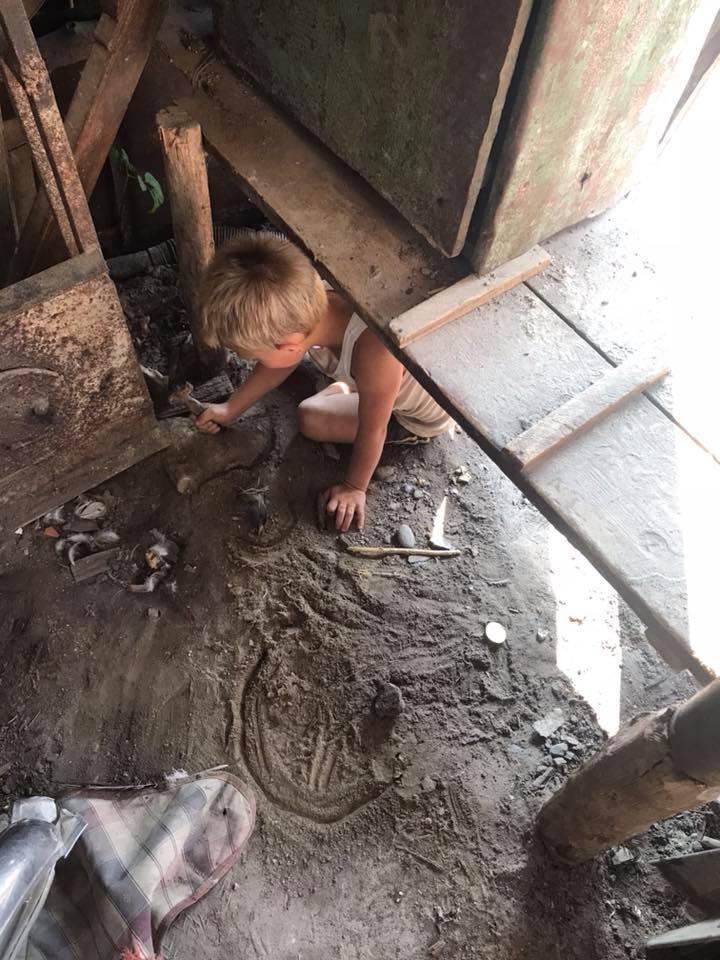 «Воет как маленький волк»: волонтеры нашли «украинского Маугли». Новости Украины
