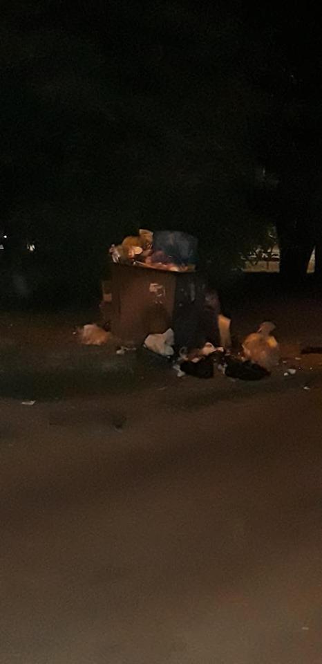 Мусорные баки – не всегда хорошо: из-за самовольно поставленного контейнера образовалась свалка во дворе дома. Новости Днепра