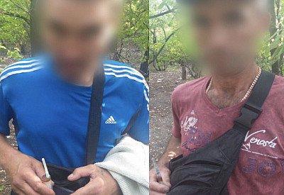 Мужчины с наркотиками бегали от полиции. Новости Днепра